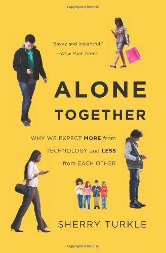 Alone Together: Why We Expect More from Technology and Less from Each Other by Sherry Turkle http://www.amazon.com/dp/0465031463/ref=cm_sw_r_pi_dp_kD2fvb1BDSFW1