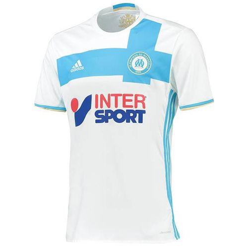 マルセイユ 16-17 サッカーユニフォームホーム 半袖 - サッカーユニフォーム専門店|NBA・MLB・NFL|スポーツ用品通販