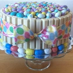 Easter Themed Cake. - Might have to make this White Choc version now!!