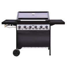 Gascraft Caldo 6 Burner BBQ with side burner