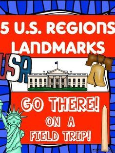 US Regions, YEAR LONG BUNDLE, no prep social studies unit. Students scan the QR code, and take a virtual field trip around the country!