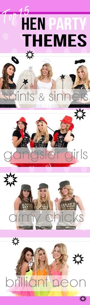 Hen Party Fancy Dress Themes