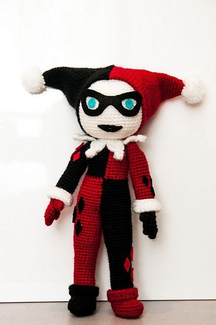 Amigurumi Harley Quinn : 945 best orgu oyuncak images on Pinterest
