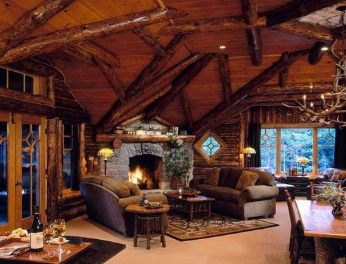 Fireplace Cabin, Lake Placid, New York