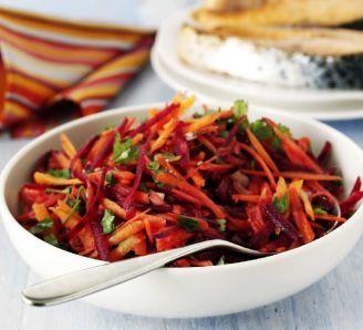 Carrot & Beetroot Salad