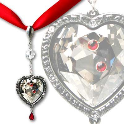 Alchemy Gothic Love After Death Crystal Choker - P557