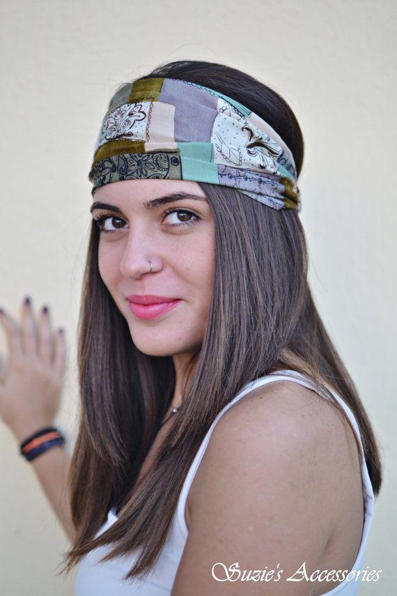 Florar Headband Headbands Turbans Hair by SuzannasAccessories
