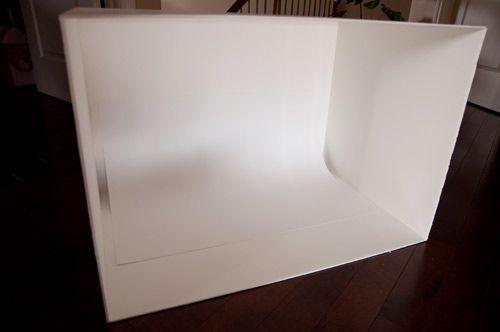 Foam core photo box