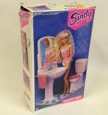 Hasbro 1991 Sindy Doll House Furniture - Bathroom Vanity Set Unused + Boxed 8715