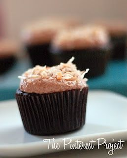 Mocha Coconut Cupcake recipe #cupcake #recipes