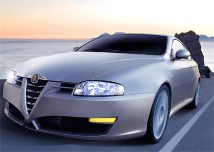 Alfa Romeo GT. Saw these in Europe. Just gorgeous. When do we get these in the U.S.?!  Must. Have. One.