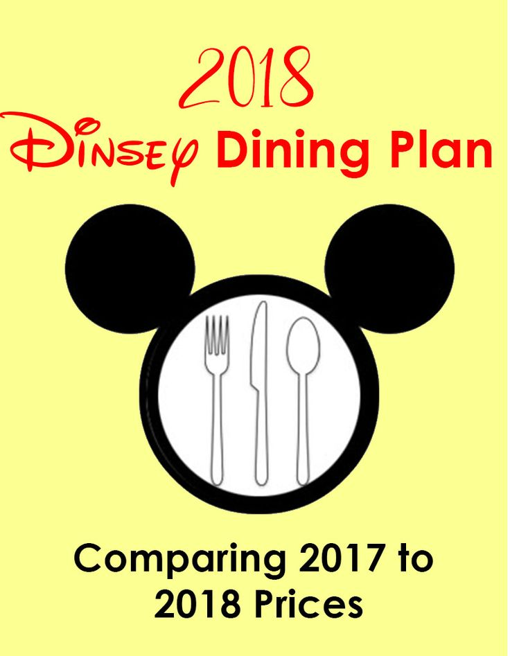 The 2018 Disney Dining Plan is including alcohol and other new beverage options available when guests purchase the Disney Dining Plan along with a Walt Disney World vacation package. www.PlanninForDisney.com