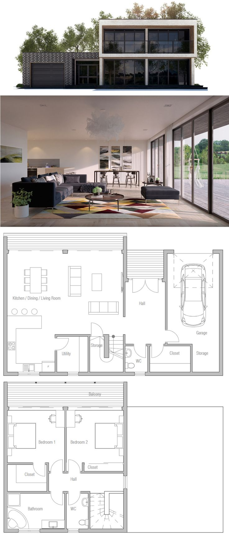 13 best house house floor plans images on pinterest small house plan smart layout