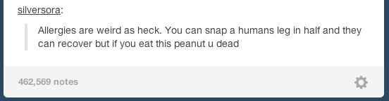 """Allergies:   43 Tumblr Comments That Make You Go """"Hmmmm"""""""
