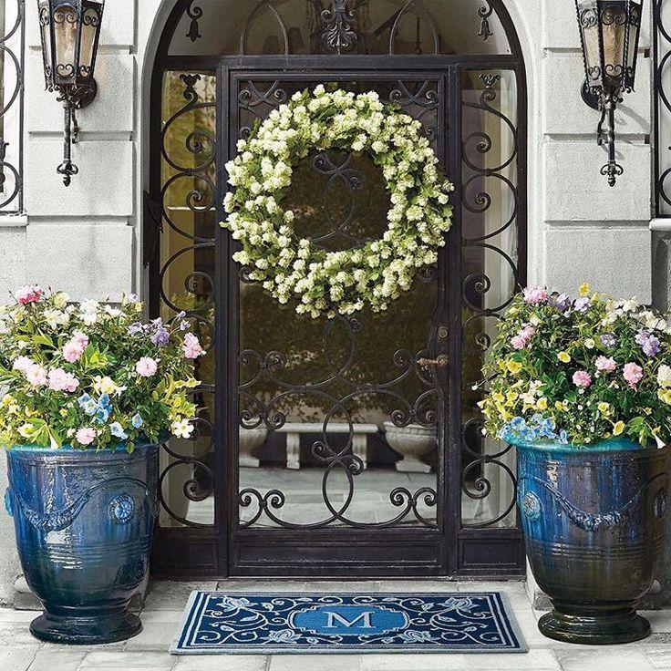 Frontgate Indoor Outdoor Planter Beautiful Doors Decor 400 x 300