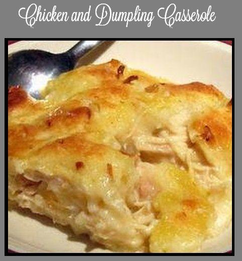 Chicken and Dumpling Casserole on MyRecipeMagic.com