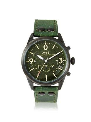 69% OFF AVI-8 Men's 4024-04 Lancaster Bomber Green/Black Watch