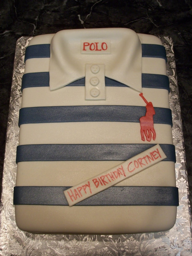 Cake Polo Shirt Design : 58 best images about Shirt cakes on Pinterest Making ...