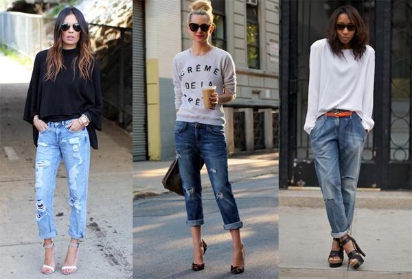 Какие нужно носить мужские джинсы к кросовкам