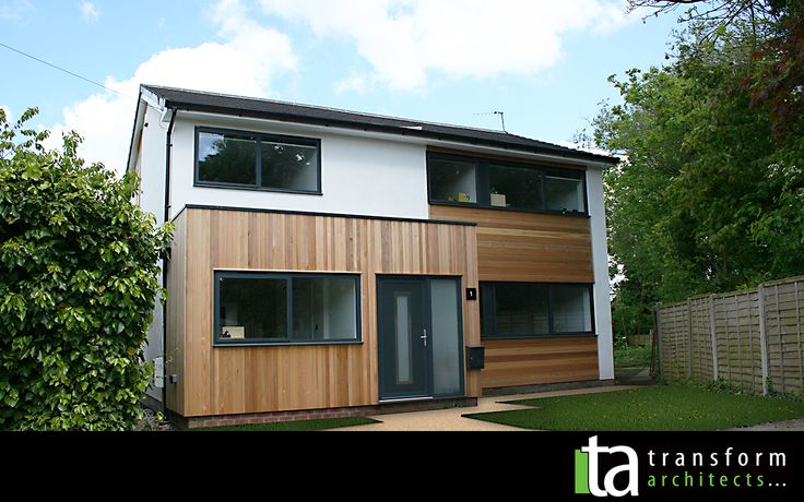 Contemporary cedar clad makeover and extensions 01