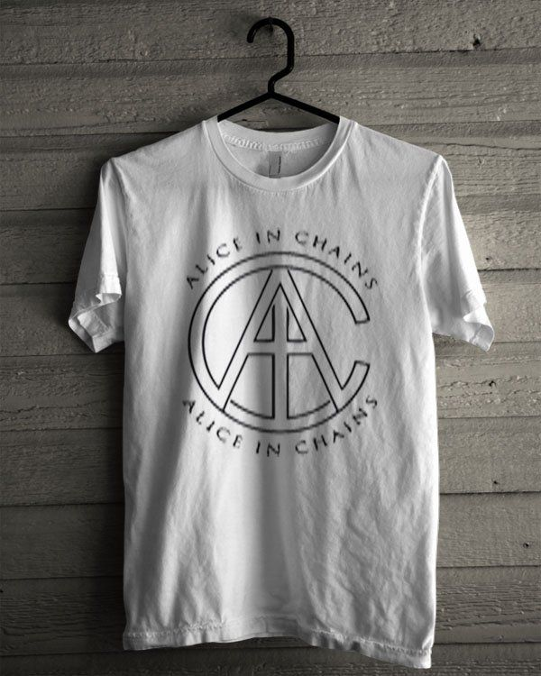 Alice In Chains Logo Shirt | T-shirt Tees Tshirt Tanktop