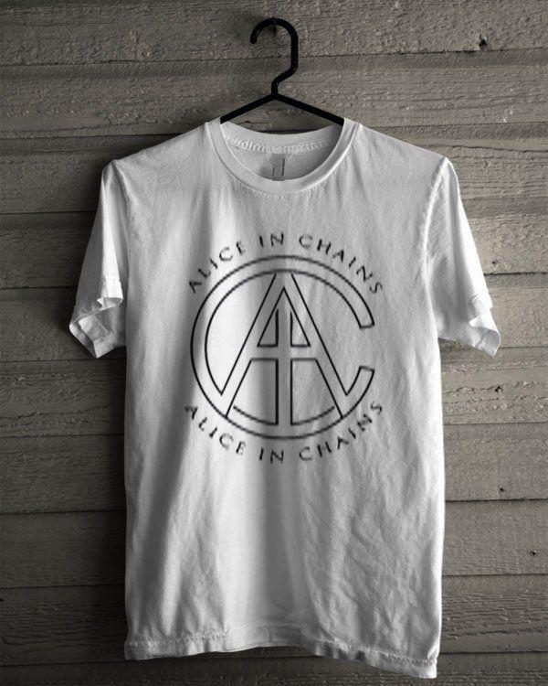 Alice In Chains Logo Shirt | T-shirt Tees Tshirt Tanktop