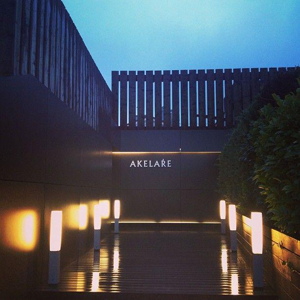 Restaurante Akelaŕe. 3 estrellas Michelin.
