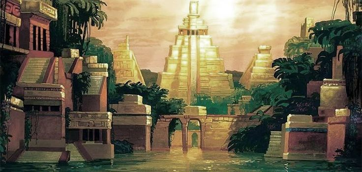 ATLANTEAN GARDENS: Legend of the Seven Cities of Gold
