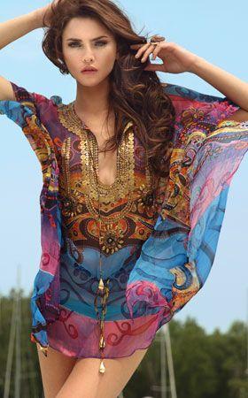 Morocco Beachwear and Coverups by Zeugari 2012 Swimwear