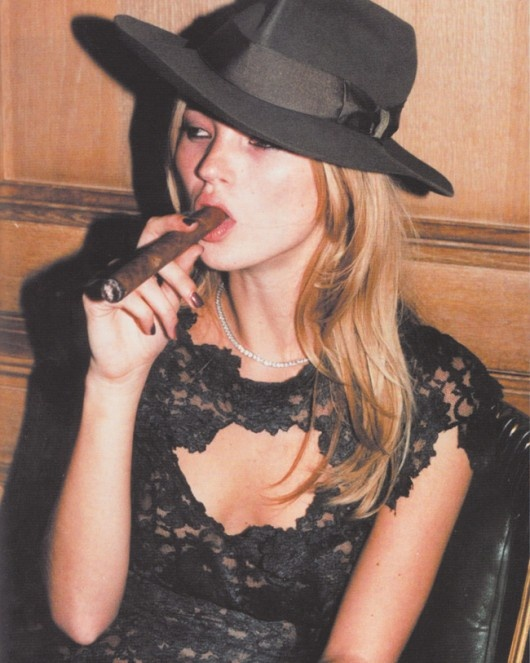 Kate Moss. So feminine but tough at the same time. I love it.                                                                                                                                                                                 More