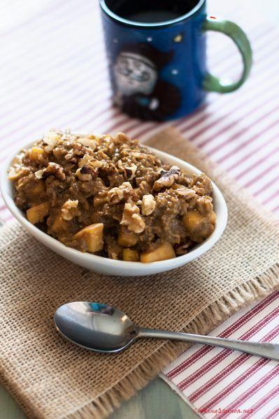 Apple Quinoa Morning Start - vegan, wheat-free, gluten-free