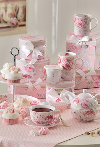 Tea in pink ♥♥♥