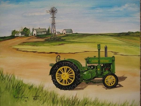 Girly John Deere Paintings : Best images about john deere on pinterest old