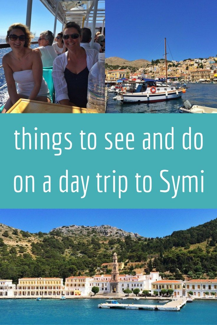 things to see and do on a day trip to symi