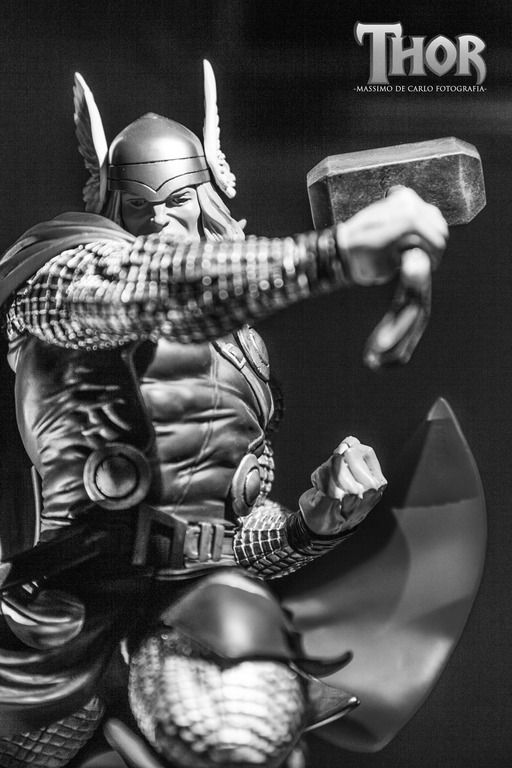 #thor #kotobukiya #Shinya Akao #action #marvel #soldier #patriot #god #hammer #strong