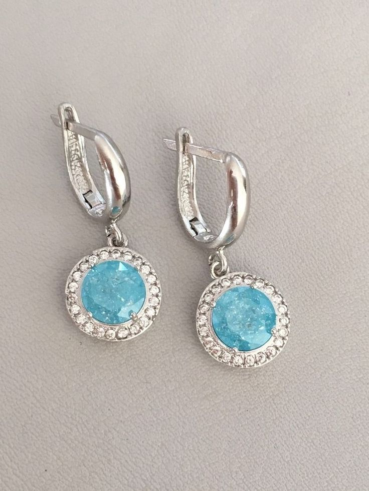 HURREM SULTAN TURKISH HANDMADE 925k STERLlNG SlLVER TOPAZ OTTOMAN EARRINGS  | eBay