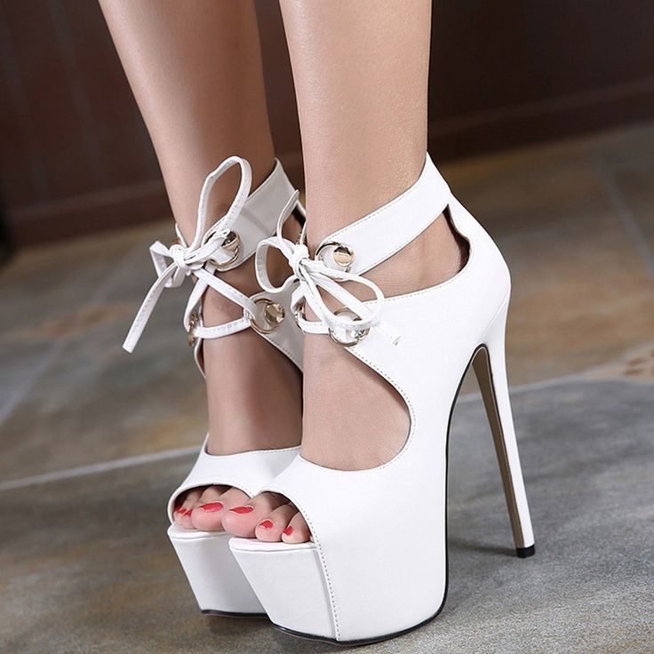 Shoespie Lace Up Platform Sandals