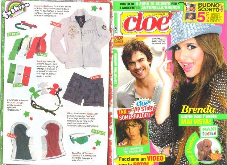 CACO DESIGN ON CIOE' N.16 -  APRIL 2011 ISSUE