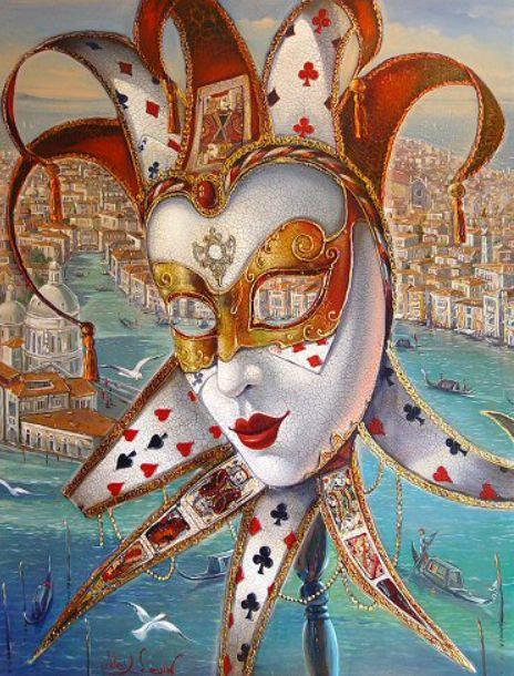 Венецианский маскарад Алекса Левина