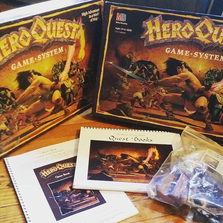 On instagram by brdencklau #heroquest #microhobbit (o) http://ift.tt/2gxlaGo stat level up. #boardgame #tabletop  #nerd