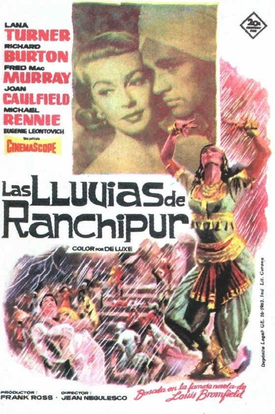 1955 - Las lluvias de Ranchipur - The Rains Of Ranchipur