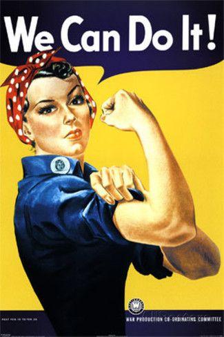 We Can Do It! Rosie la riveteuse Affiche