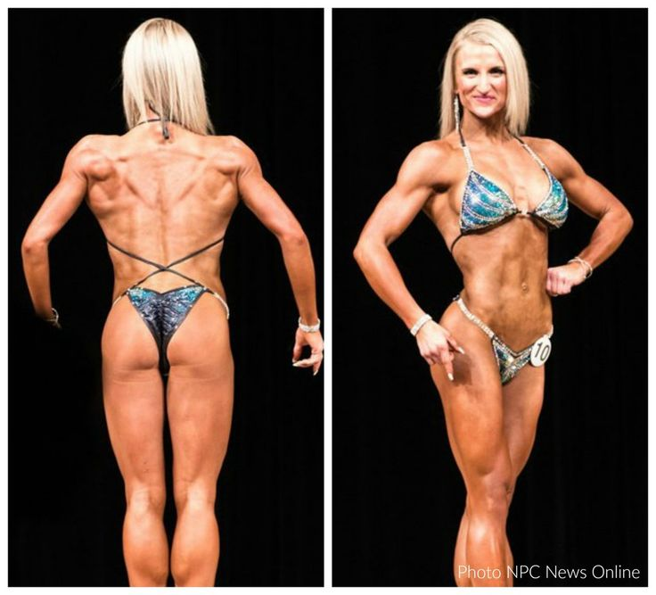 NPC Figure Competitor Katie Wargo, Figure Competition Suits