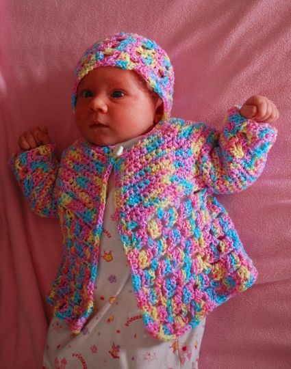 Knitting Pattern For Jelly Babies : 955 best images about CROCHET BABY SWEATER SETS & JACKETS, PONCHOS on Pin...