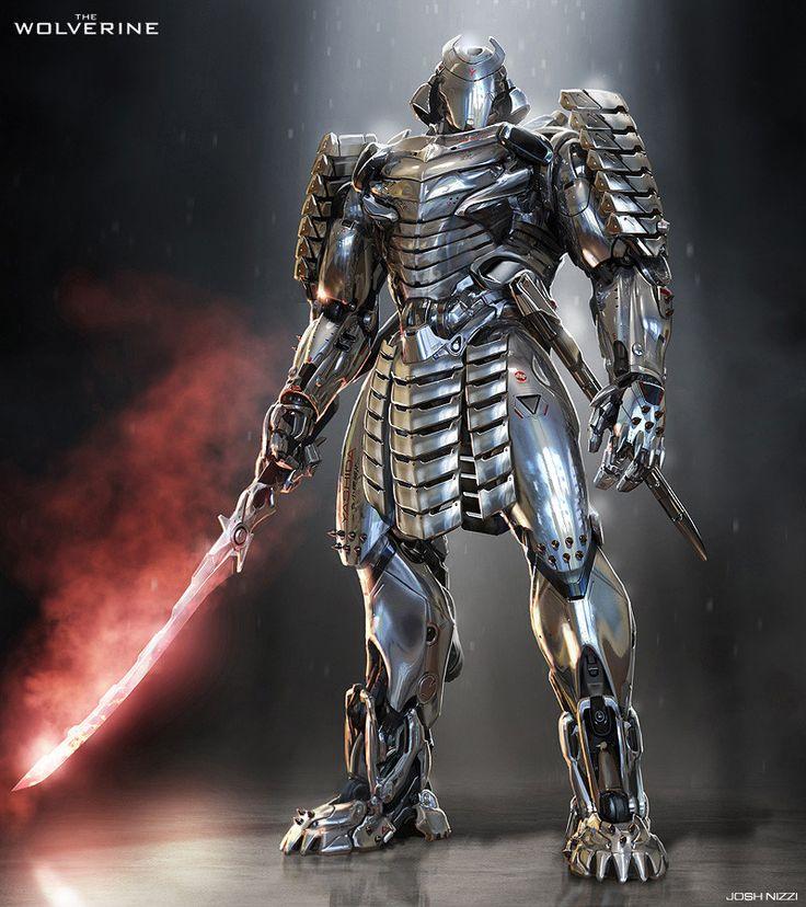 THE WOLVERINE - Concept Art for the Silver Samurai — GeekTyrant