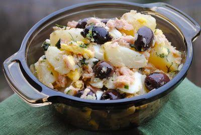 Невыразимая легкость кулинарного бытия...: Картофельный салат с тунцом