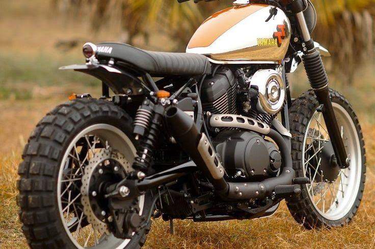 Yamaha bolt tt by hageman motorcycles flat track for Yamaha bolt scrambler