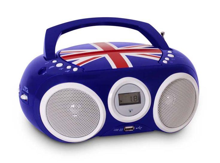 Radio CD/MP3/USB CD32 (UK) - Da Bigben Interactive. Ulteriori informazioni qui: http://www.bigbeninteractive.it/produit/produit/id/8583