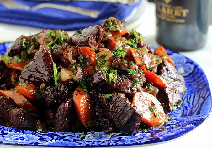 Thyme and Wine Beef Stew (GF) | A Garden for the House