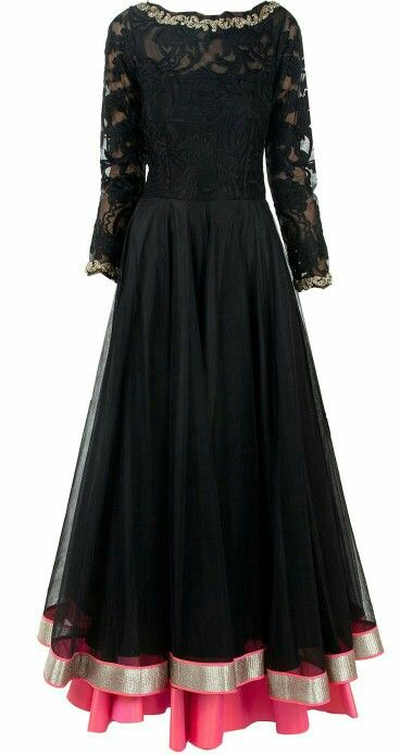 Double layer Anarkali